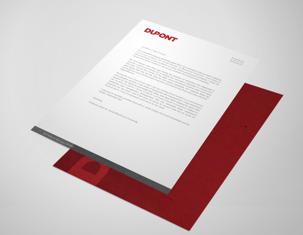 How To Design An Email Letter With Letterhead And Graphics